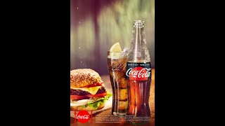 Підкресли смак свого бургера з Coca-Cola