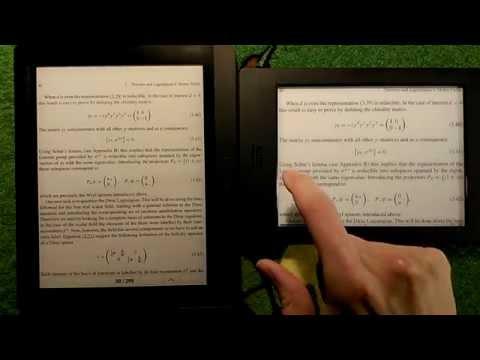 Scientific PDF/Books on Kobo Aura H2O and Pocketbook Inkpad