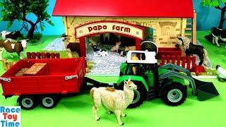 Papo My First Farm Playset plus Toy Farm Animals For Kids