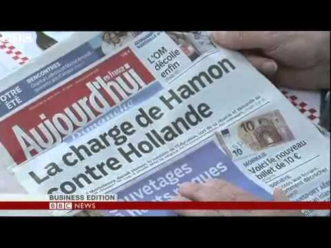 BBC News   France  Hollande names new French cabinet