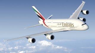 Dubai International (OMDB) to London Heathrow (EGLL) FSX Emirates A380