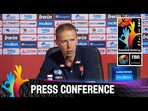 France v Serbia - Post game press conference (First part) - 2014 FIBA Basketball World Cup