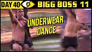 Akash Daalani Does UNDERWEAR Dance | Bigg Boss 11 Day 40 | 10th November 2017 Full Episode Update
