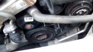 BMW 120d E87 How to Replace Aux Drive Belt & Tensioner