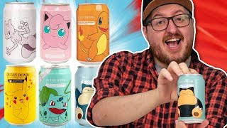 Irish People Try Pokémon Drinks
