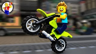 Choose a Cool Motorcycle 🔴🏁 LEGO Animation for real guys