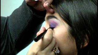 PURPLE SMOKEY EYES MAKEUP PHOTOSHOOT