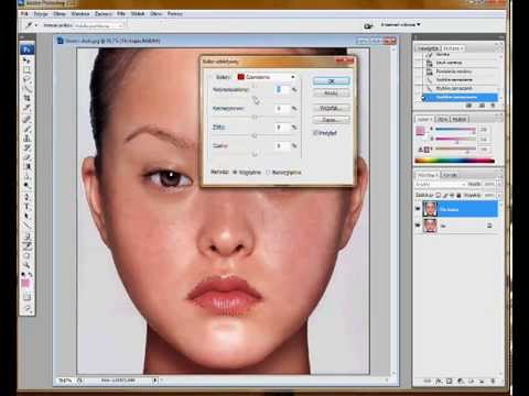 Photoshop make up - Devon Aoki