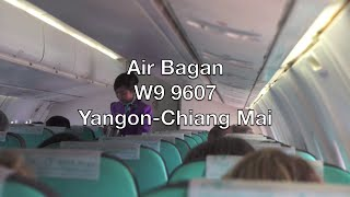 Air Bagan ATR 72-500 Flight Report: W9 9607 Yangon to Chiang Mai