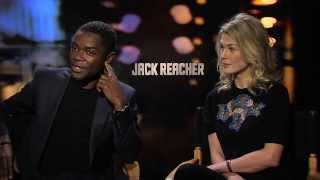JACK REACHER Interviews - Rosamund Pike, David Oyelowo, Christopher McQuarrie