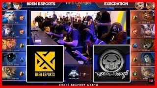 Unang Kimmy sa Laro! Bren Esports vs Execration   MPL PH Season 2 Playoffs