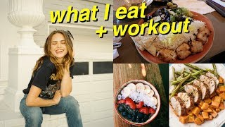 What I Eat in a Day & Workout with Me! #2 | Summer Mckeen