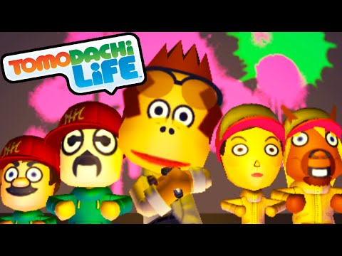 Tomodachi Life: DK Rap Song, Secret Rooftop Meeting Gameplay Walkthrough PART 33 Nintendo 3DS