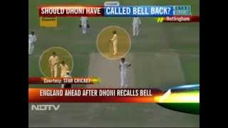 Should Dhoni have called Ian Bell(run out) back?