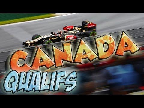 F1 2013 - Grand Prix du Canada - Qualifications - IA Legend - Saison 3