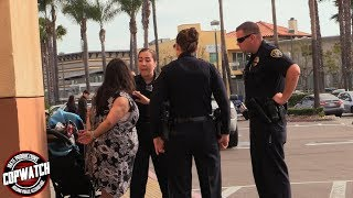 Copwatch | Woman Arrested for Hitting Another Woman