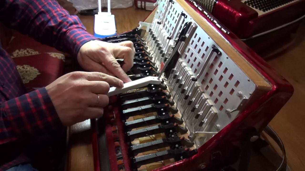Ремонт своими руками аккордеонов 638