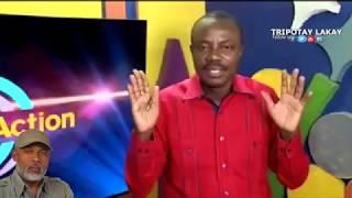 VIDEO: Haiti - Moise Jean Charles di Eric Jean Baptiste (Pere Eternel) se yon moun fou