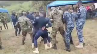 Ghanian Soldiers Dance to ONE CONER ..| Must Watch