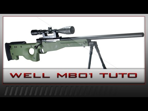 [AIRSOFT] Tuto Démontage et Upgrade du Well MB01 (T96)