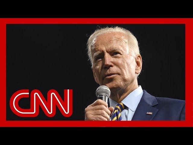CNN Poll: Joe Biden regains double-digit lead over 2020 Democratic field thumbnail