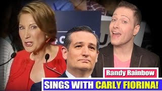 RANDY RAINBOW & CARLY FIORINA DUET: Just in Love (with TED CRUZ)