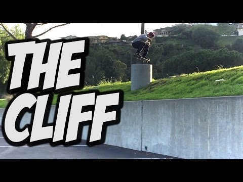 NEW TRICK ON THE CLIFF !!! - A DAY WITH NKA -