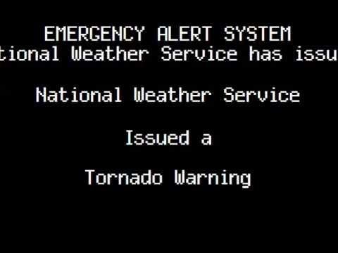 Tornado Outbreak EAS Scenario: US East Coast