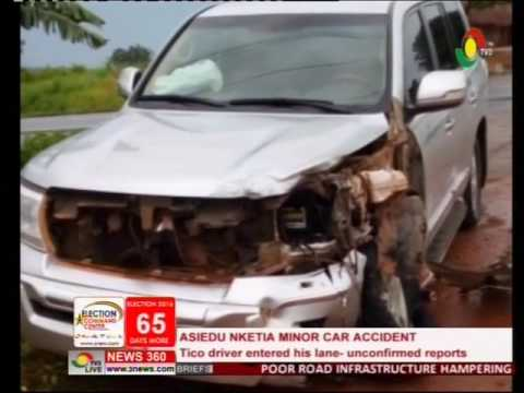 Aseidu Nketia involved in an accident -2/10/2016