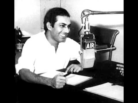 "'KING OF GHAZALS' TALAT MAHMOOD INTERVIEW ON ""ALL INDIA RADIO"""