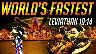 Destiny 2: WORLD'S FASTEST LEVIATHAN RAID (19:14) - BY EUROS