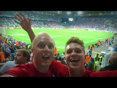 OUR EURO 2016 ADVENTURE | ENGLAND VS SLOVAKIA
