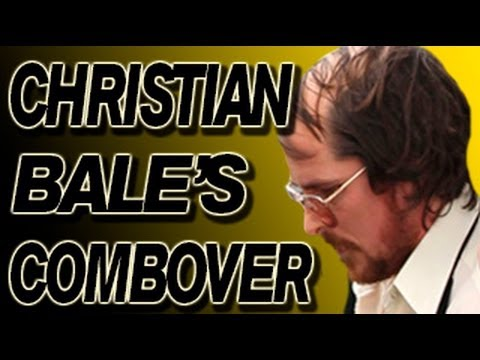 Christian Bale and His Combover! - Sneak Peek Behind the Scenes of New Movie with Bradley Cooper