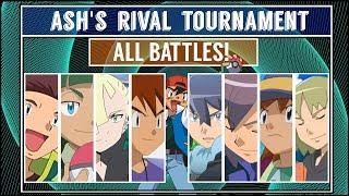 Ash's Rival Tournament (Pokémon Sun/Moon) - All Battles!