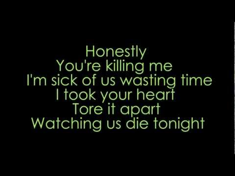 Bullet for my Valentine - Watching us die tonight (lyrics + HD)
