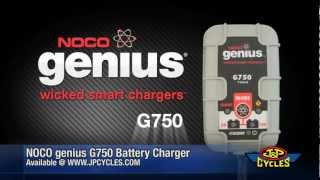 NOCO genius G750 Multi-Purpose Battery Charger • Shop J&P Cycles