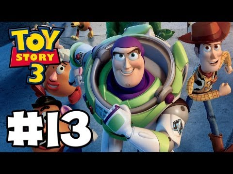 Toy Story 3 The Video-Game - Toy Box Mode - Episode 13 (HD Gameplay Walkthrough)