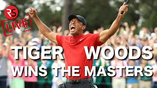 TIGER WOODS WINS THE MASTERS 2019!