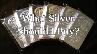 What Silver Bullion Should I Buy? Info For New Investors