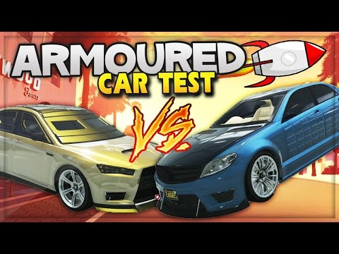 GTA 5 DLC Update! New Armoured Cars Crash Test, Bomb & Bullet Proof Cars (GTA 5 ONLINE Gameplay)