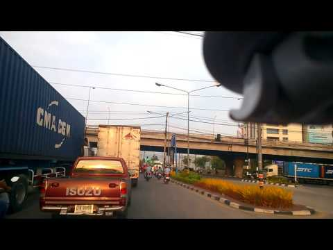 ท่าเรือ แหลมฉบัง – ถ.หมายเลข7 กรุงเทพ Sukhumvit Road Laem chabang
