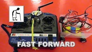 RC Car with 4 DC motors for Klaidas Drift FAST FORWARD