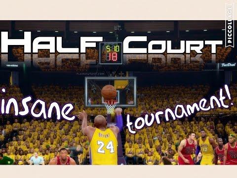 INSANE NBA 2K16 HALF COURT TOURNAMENT!!! Legends and Current Players