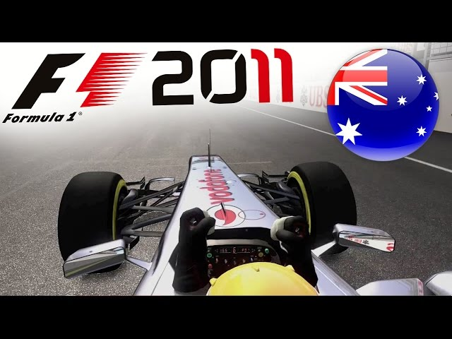 F1 2011 Career Mode Part 1: Melbourne, Australia