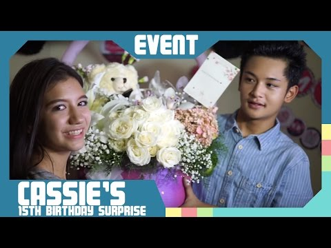 Cassie's 15th Birthday Surprise