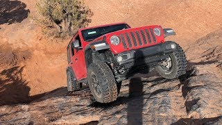 Brand New 2018 Jeep Wrangler JLU Rubicon Conquers Moab