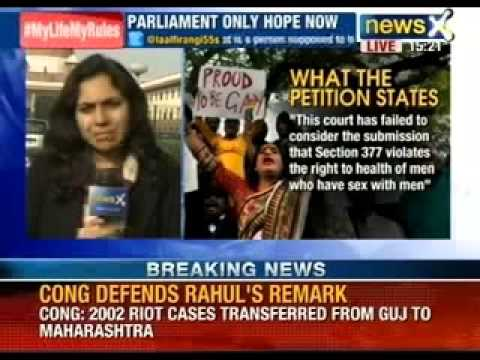 NewsX: Supreme Court of India disappoints LGBT Community of India