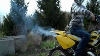 Jumping the Gas Gas 125