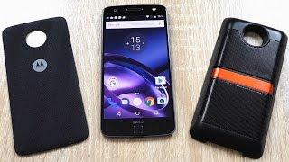 Moto Z Полный обзор модульного смартфона + JBL Mod