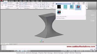 autocad advanced tutorial revolve